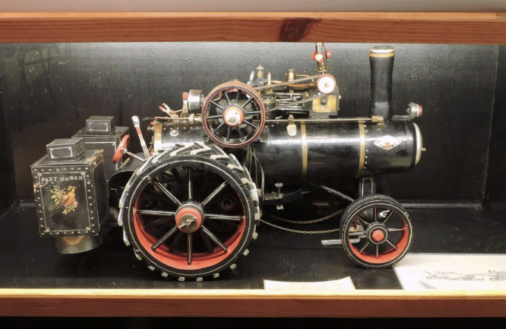 Figure 2. Port Huron Steam Tractor Model