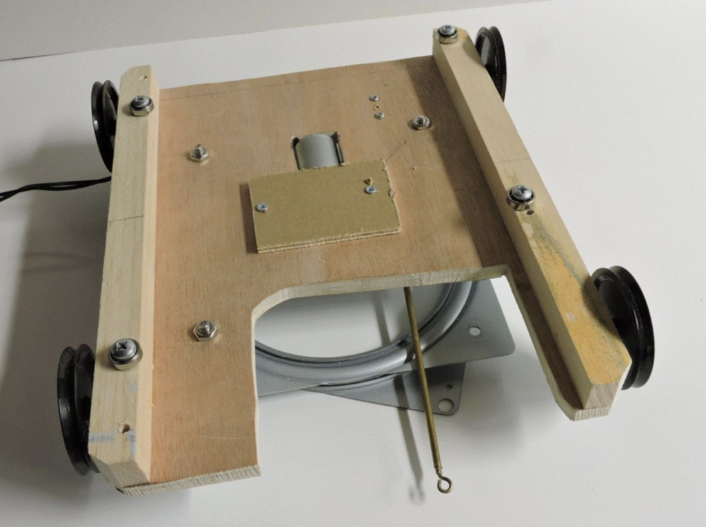 Figure 4. Skater Mechanism Trolley Underside